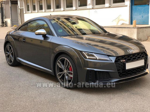 Hire and delivery to Aéroport Lyon-Saint Exupéry (LYS) the car Audi TTS Coupe