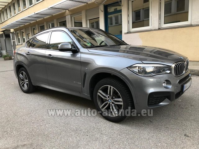 Rental BMW X6 4.0d xDrive High Executive M in Courchevel