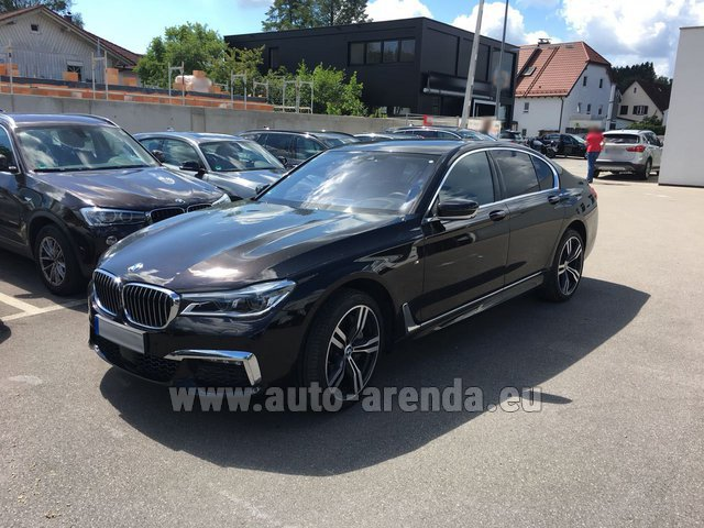 Rental BMW 750i XDrive M equipment in Courchevel