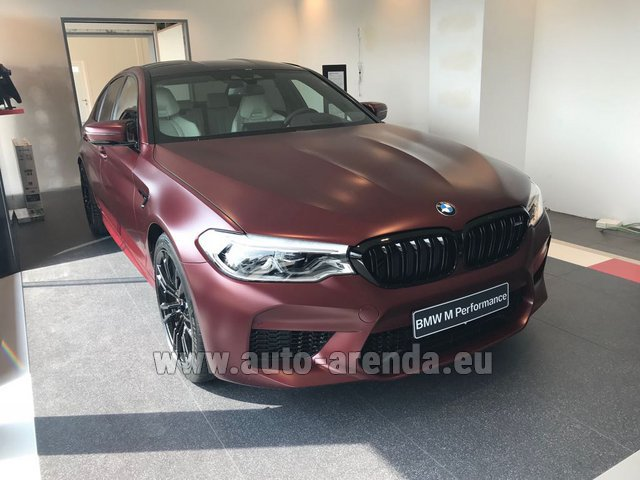 Прокат БМВ M5 Performance Edition в Куршевеле