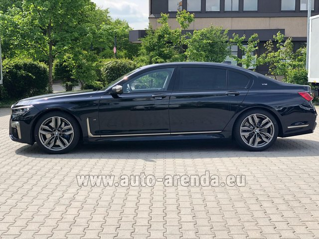Rental BMW M760Li xDrive V12 in Courchevel