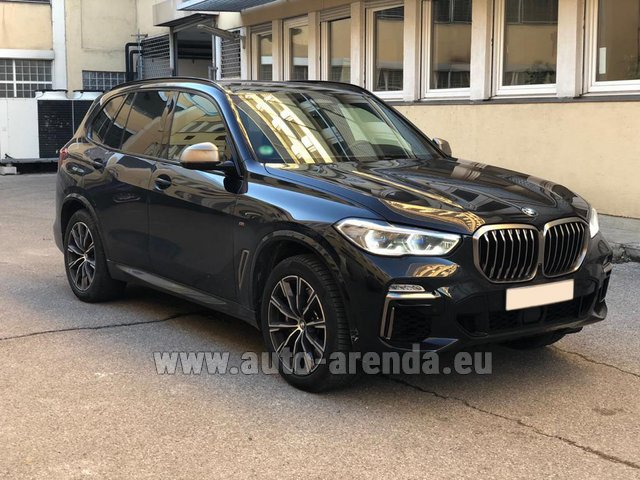Rental BMW X5 M50d XDRIVE in Courchevel