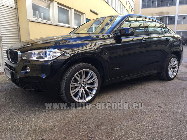 Rental BMW X6 3.0d xDrive High Executive M Sport in Courchevel