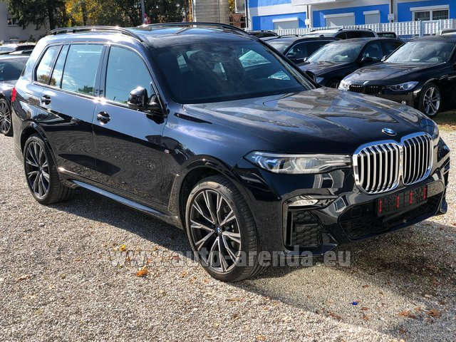 Rental BMW X7 xDrive40i in Courchevel