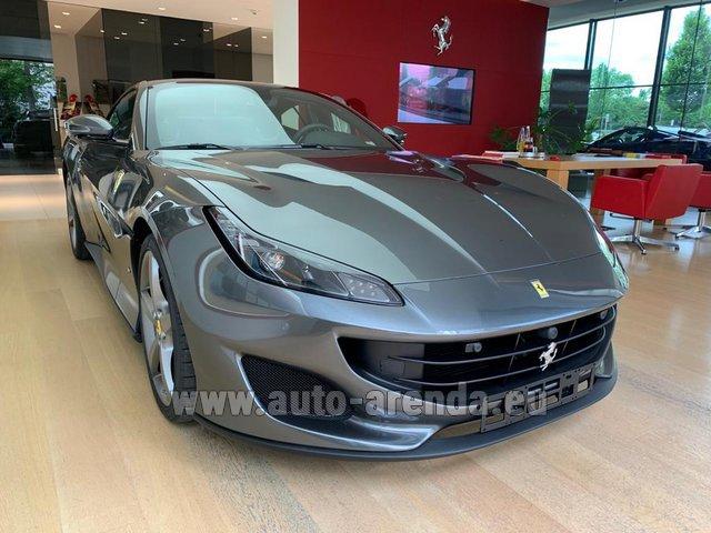 Rent The Ferrari Portofino Car In Courchevel