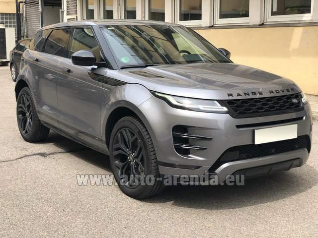 Hire and delivery to Genève Aéroport (GVA) the car Land Rover Range Rover Evoque D180SE