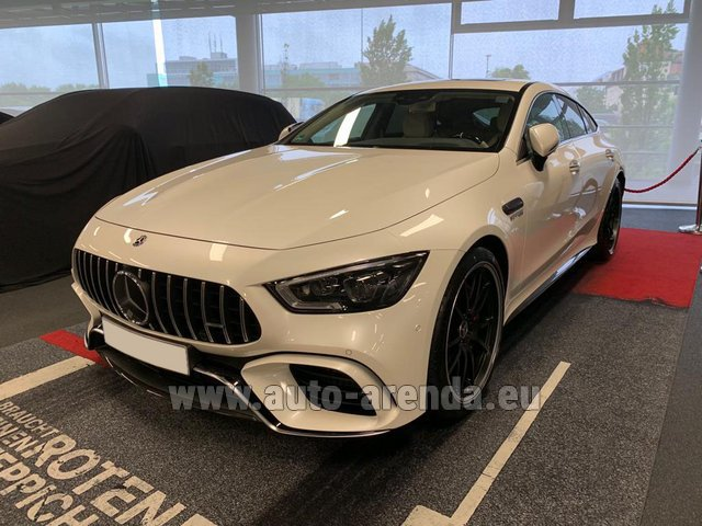 Rental Mercedes-Benz AMG GT 63 S 4-Door Coupe 4Matic+ in Courchevel