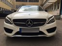 Rent-a-car Mercedes-Benz C-Class C43 AMG Biturbo 4MATIC White with its delivery to Genève Aéroport (GVA), photo 2
