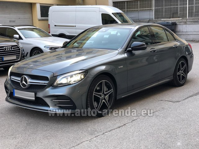 Rental Mercedes-Benz C-Class C43 BITURBO 4Matic AMG in Courchevel