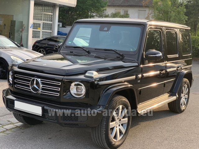 Rental Mercedes-Benz G-Class G500 2019 Exclusive Edition in Courchevel