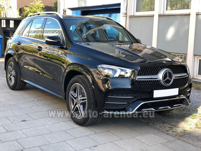 Hire and delivery to Genève Aéroport (GVA) the car Mercedes-Benz GLE 400 4Matic AMG equipment