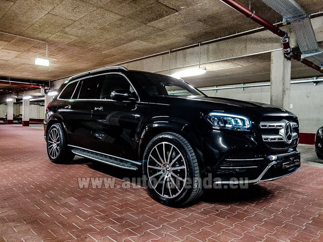 Hire and delivery to Genève Aéroport (GVA) the car Mercedes-Benz GLS 400d 4MATIC BlueTEC equipment AMG