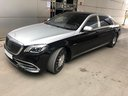 Maybach/Mercedes S 560 Extra Long 4MATIC AMG equipment car for transfers from airports and cities in Germany and Europe.