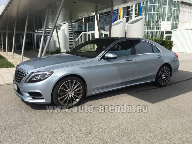 Hire and delivery to Aéroport Chambéry Savoie Mont Blanc (CMF) the car: Mercedes-Benz S 350 L BlueTEC 4MATIC AMG