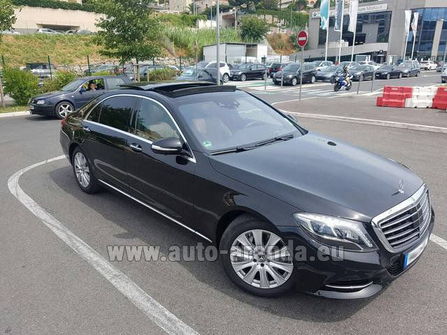 Rental Mercedes-Benz S 350 Long AMG in Courchevel