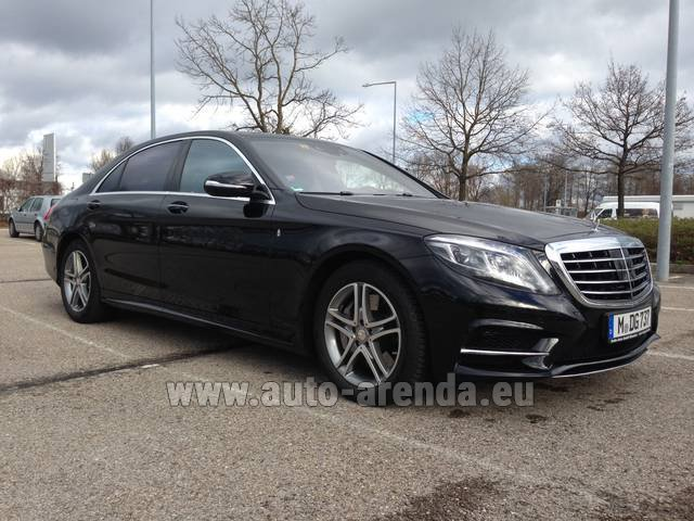 Hire and delivery to Aéroport Chambéry Savoie Mont Blanc (CMF) the car: Mercedes-Benz S 350 Long Diesel 4x4 AMG