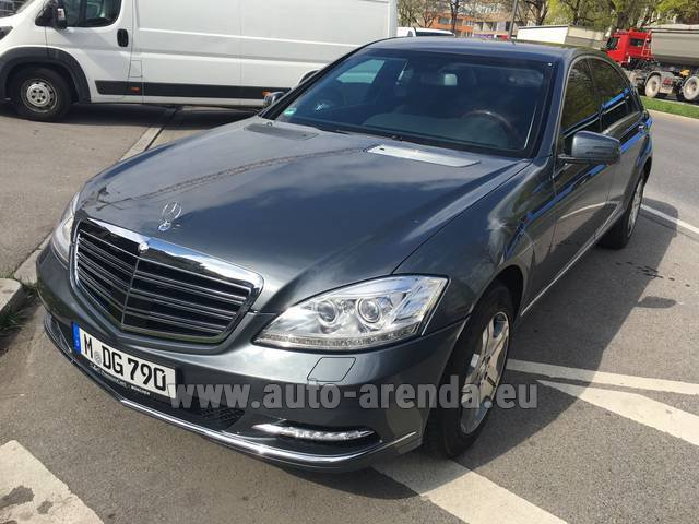 Rental Mercedes-Benz S 600 L B6 B7 Guard FACELIFT in Courchevel