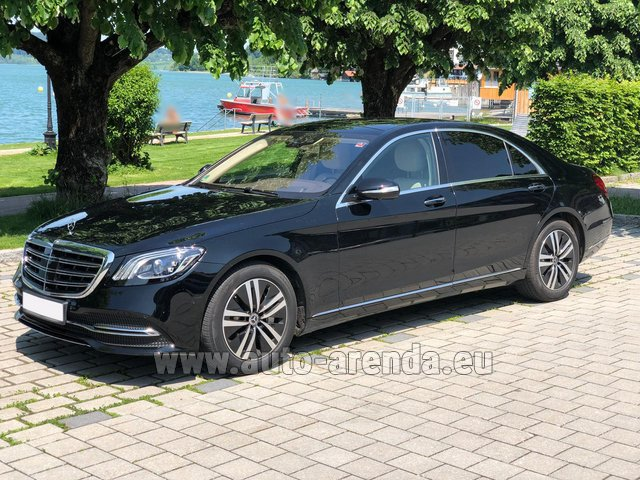 Rental Mercedes-Benz S-Class S400 Long 4Matic Diesel AMG equipment in Courchevel