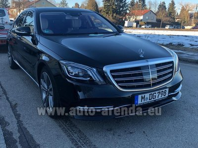Mercedes-Benz S-Class S400 Long Diesel 4Matic AMG equipment