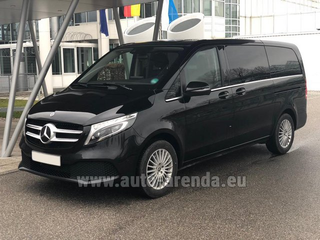 Rental Mercedes-Benz V-Class (Viano) V 300 d 4MATIC AMG equipment in Courchevel