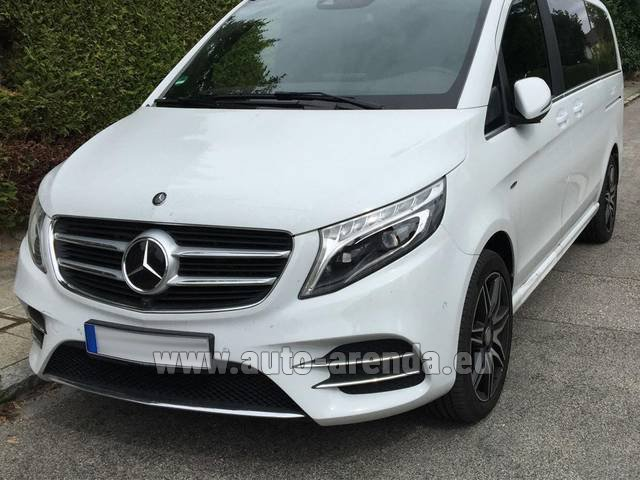 Rental Mercedes-Benz V-Class (Viano) V 250 D 4Matic AMG Equipment in Courchevel