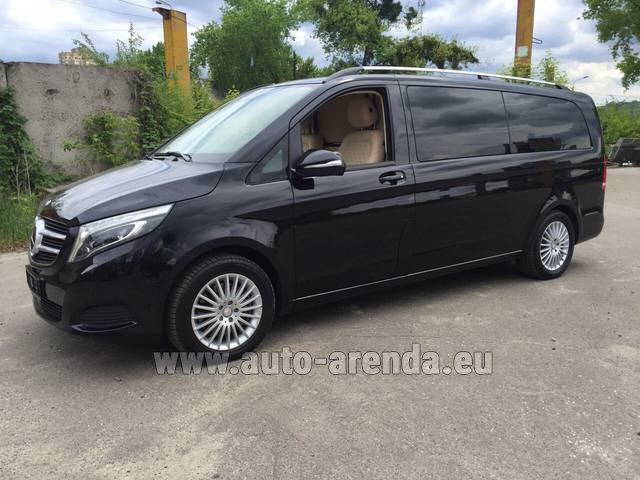 Rental Mercedes-Benz V-Class V Limo Business VAN in Courchevel