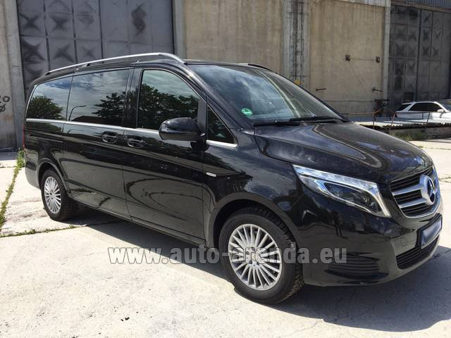 Rental Mercedes-Benz V-Class (Viano) V 250 Long 8 seats in Courchevel
