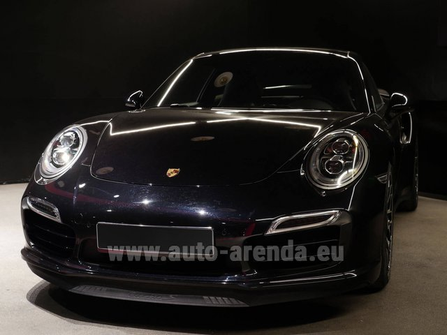 Прокат Порше 911 991 Turbo S Ceramic LED Sport Chrono Пакет в Куршевеле