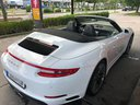 Rent-a-car Porsche 911 Carrera Cabrio White in Courchevel, photo 2