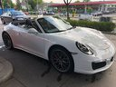 Rent-a-car Porsche 911 Carrera Cabrio White in Courchevel, photo 1