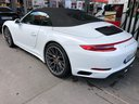 Rent-a-car Porsche 911 Carrera Cabrio White in Courchevel, photo 6