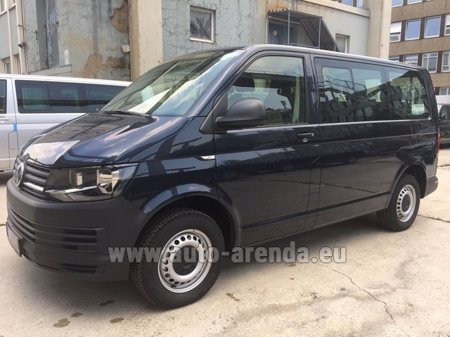 Hire and delivery to Genève Aéroport (GVA) the car Volkswagen Transporter T6 (9 seater)