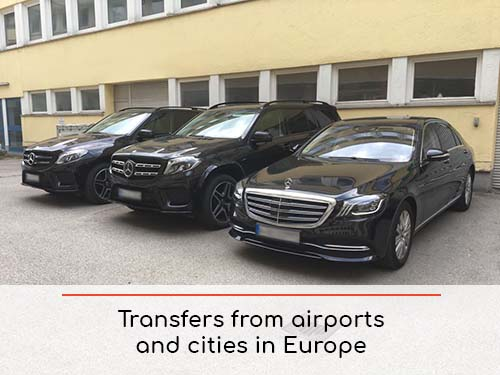 Transfers from airports and cities in Courchevel and Europe | Car rental with driver
