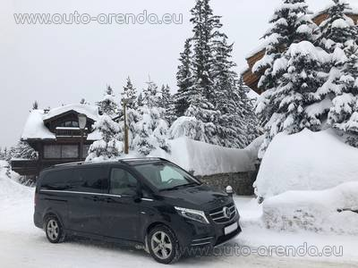 Мерседес-Бенц V250 4Matic EXTRA LONG (1+7 мест) комплектация AMG